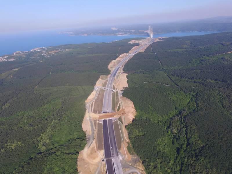 Ekolojik Köprü - İstanbul 3. Köprü Yolu