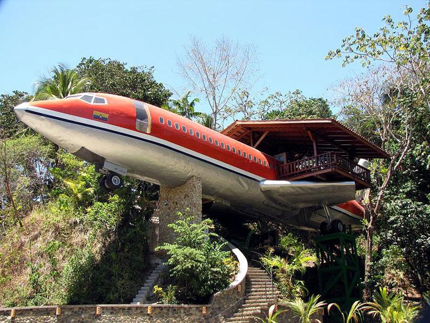 Uçak ağaç evi - Kosta Rika