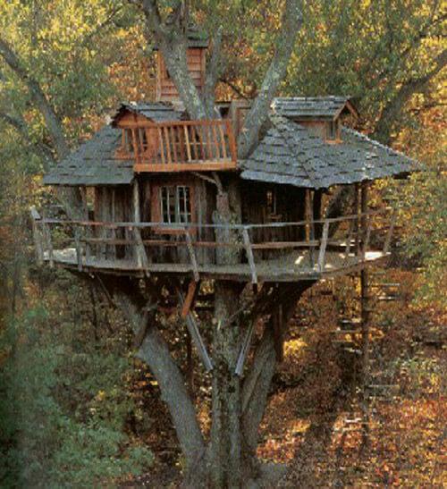 Ağaç ev kere ağaç ev