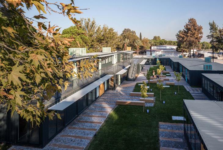 Ege Üniversitesi Mercan Konteyner Park