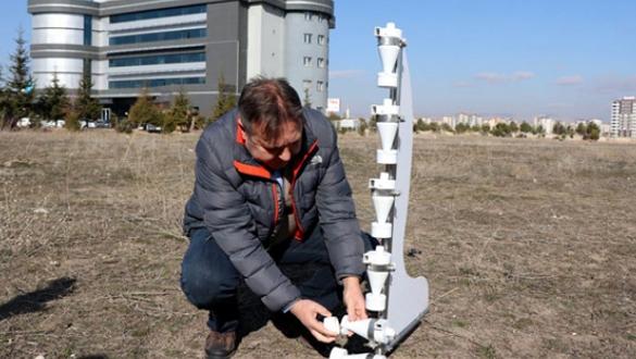 Rüzgar erozyonu ölçme sistemi