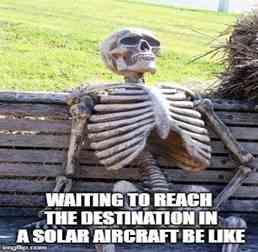 Güneş Enerjili Uçağı Beklerken