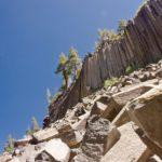 Güzelcehisar Lav (Bazalt) Sütunları (Kayaları)