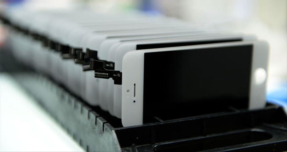 Kırık cep telefonu ekranlarını geri dönüştürülmesi