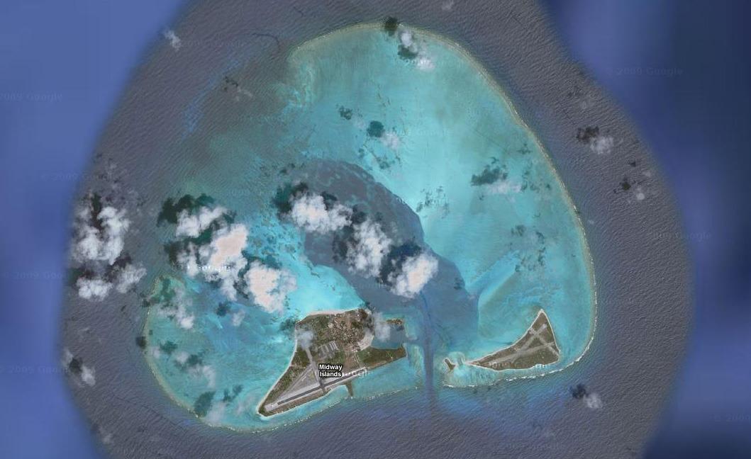 Midway mercan adası