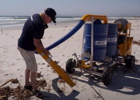 Mikroplastik Süpürge: Plajlar Plastiklerden Kurtulacak
