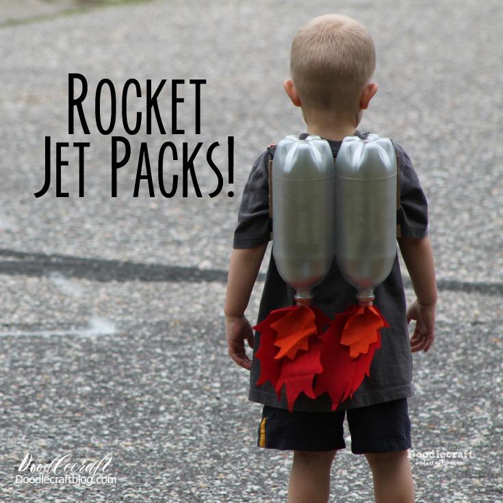 Jet roketi; çocukların aklını başından alacak harika bir tasarım