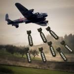 Ağaç Bombası Bırakan Uçaklar!