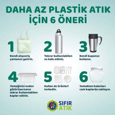 Plastik Atık Azaltma Önerileri