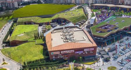 Türkiye'den Yeşil Çatı Örnekleri: Meydan İstanbul Alışveriş ve Yaşam Merkezi